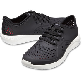 Crocs LiteRide Pacer Chaussures Homme, black/white